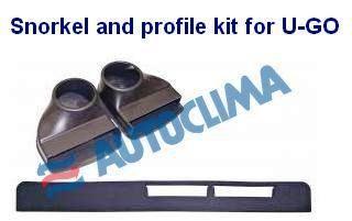Snorkel and profile kit for U-GO Autoclima