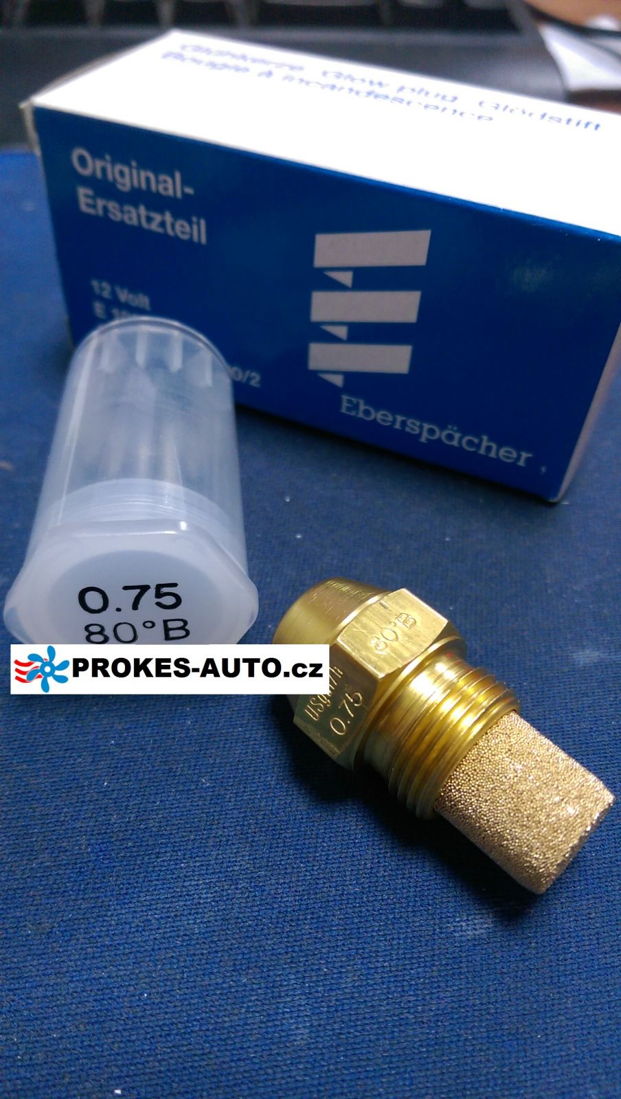 Fuel nozzle D30W 0.75 HYDRONIC 80° 33000027 Eberspächer