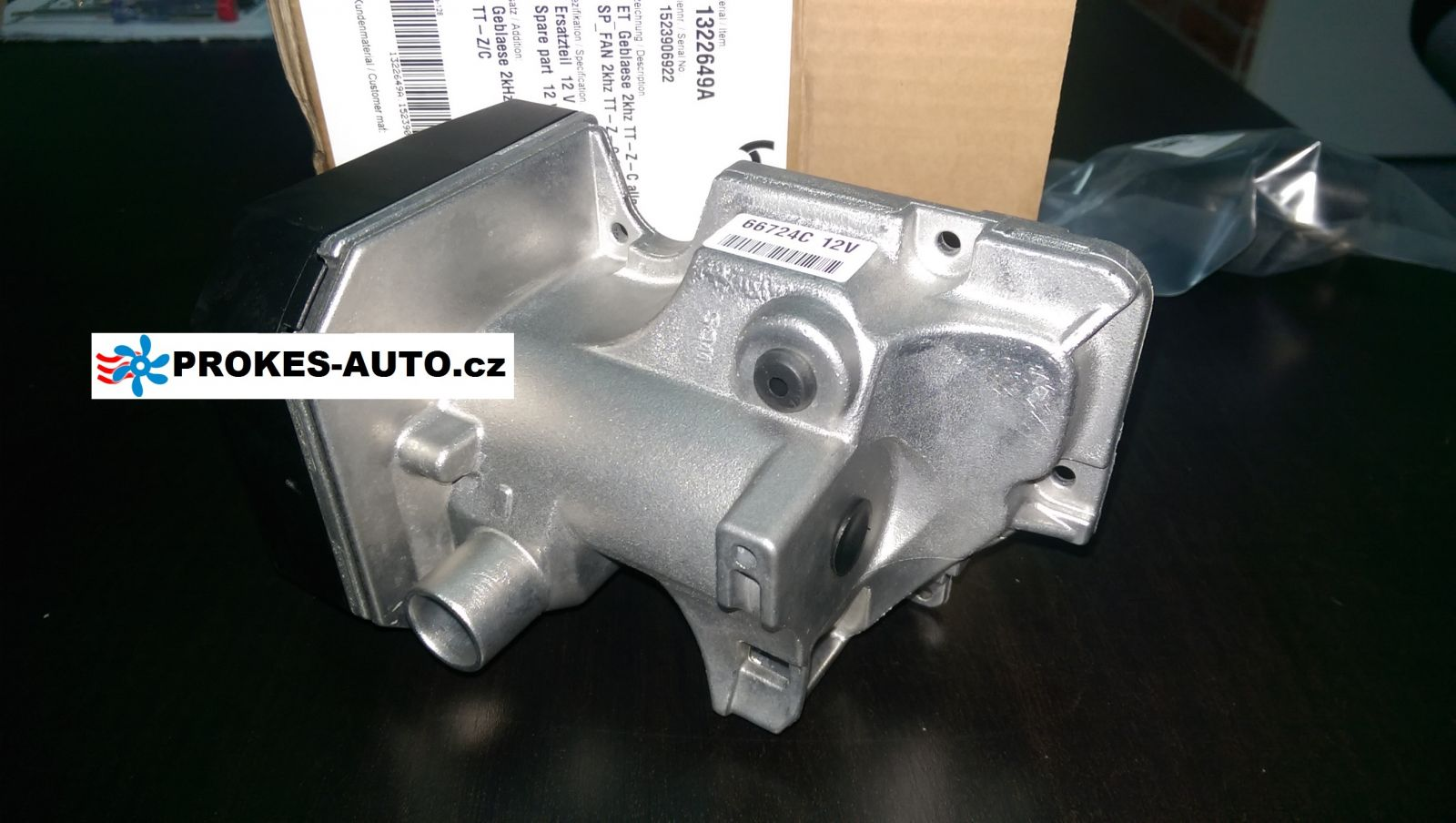 Combustion air blower auxiliary heater Thermo Top TT C / E / Z / P 9001383 / 1322649 / 91870 Webasto