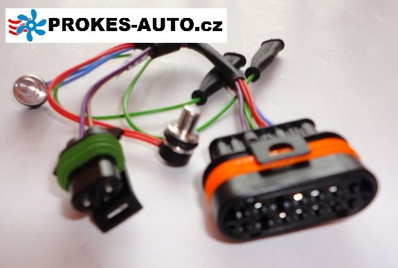 Sensor with cable overheating D4WSC / D5WSC 252219012300 Eberspächer