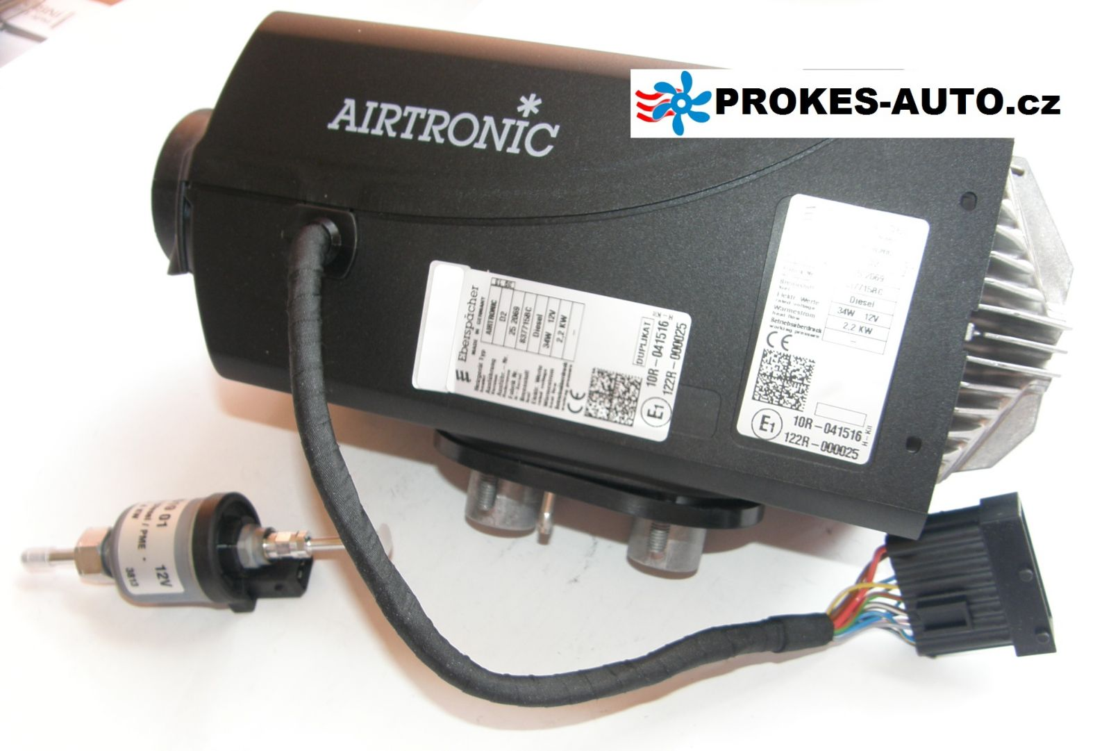 Heating Eberspacher Airtronic D2 252069 252070 Airtronics Wiring Diagram