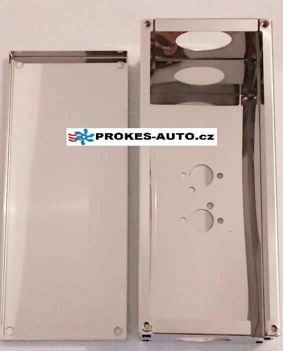 Protective cover for air heating 4kW stainless steel