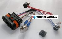 Cable harness with sensor for D5WZ / D3WZ / D5WS