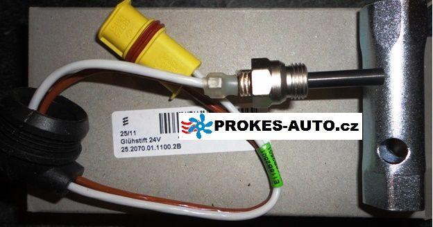 Eberspächer Glow Pin 24V Airtronic D2 / D4 / D4S 252070011100 / 252070010300 / MAN 252292 - 81.26803-6001 / 252116 / 252070 / 252114 / 252145 / 252498
