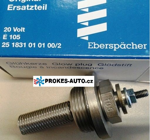 Glow Plug E105 D1LC / D3LC Compact / D5LC / D8LC / D5 24V 251831010100 Eberspächer