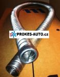 24mm Exhaust flexible pipe 24x2 with end 80cm