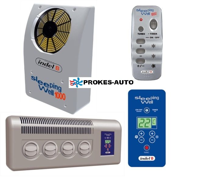 Air Conditioning Indel B Sleeping Well Back 950W 24V