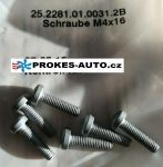 Screw set HYDRONIC II-F D5Z-F D5S-F
