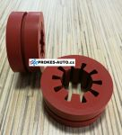 Webasto Red Rubber Slotted 22/46mm 1300697 / 1320080