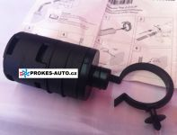 Intake silencer for 22mm hose