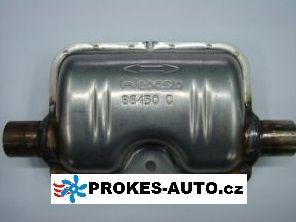 Webasto Exhaust Silencer muffler 22mm Stainless steel 22mm 86450 / 1320895 / 1320488 / 86450C / 1320895A / 1320488A