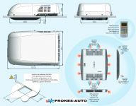 Autoclima RTEH 27 air conditioning 2700W / heating 2900W / 230V