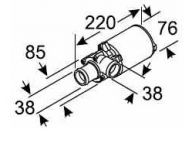 Eberspächer Circulation PUMP U4814 24V Aquavent 5000 AMP 252488260100