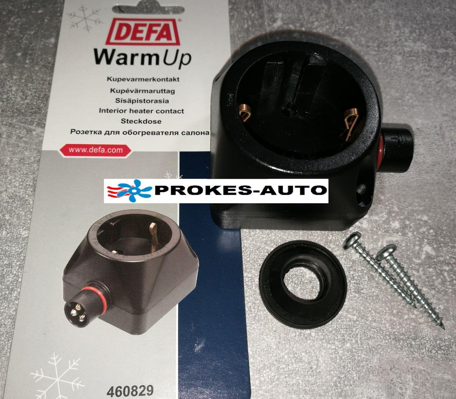 Socket 230V Default for in-car mounting A460829 / 460829