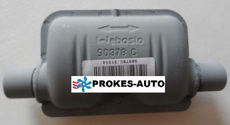 Webasto Exhaust Silencer 24mm STEEL 90378 / 1320372 / 90378C / 1320372A