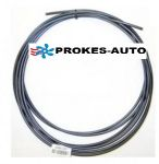 Fuel hose 5x1,5mm black
