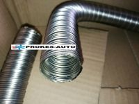 30mm Flexible exhaust pipe - stainless steel 30x2 INOX