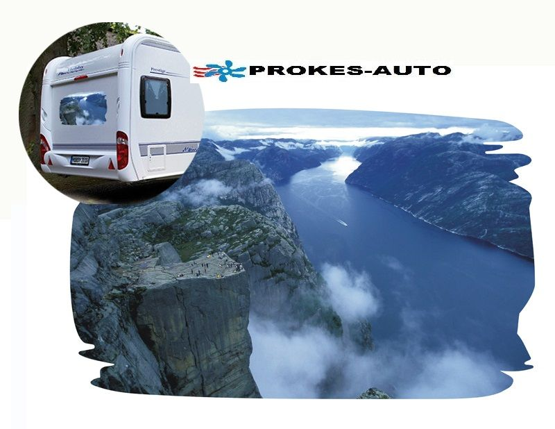 Car sticker NORWAY PROKES-AUTO