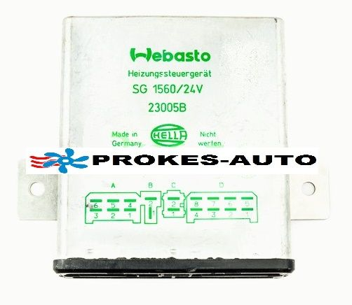 Control unit SG1560 GT BW46 24V with glow cycle 1319994 / 23005 Webasto