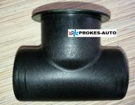 T PIECE 60/60/60 with a threaded outlet 9009268 Webasto