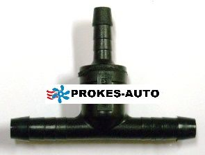 T piece for fuel connection 6x5x6mm 1321002 / 66944 Webasto
