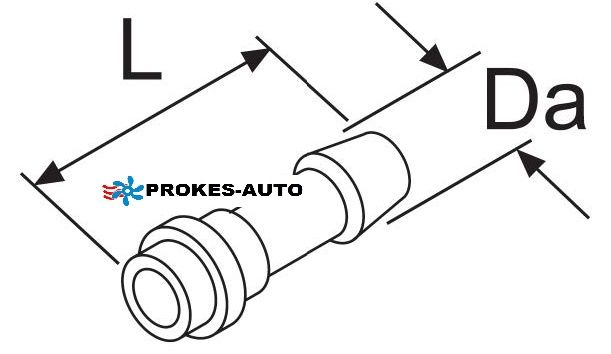 Webasto Fuel Hose Connection 6mm 247049 / 1319702