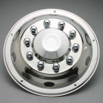 "Truck wheel cover stainless steel type Delux 22,5"" Front"