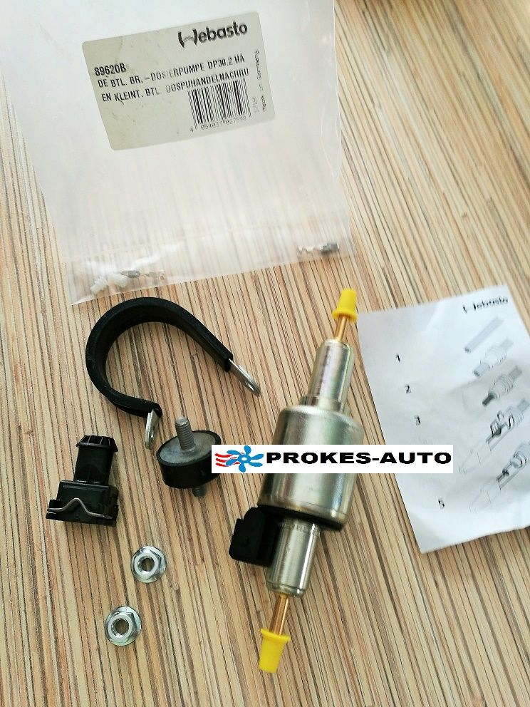 Fuel / DOSING PUMP DP30.2 12V / 89620 / 9012868C / 9012868 Webasto