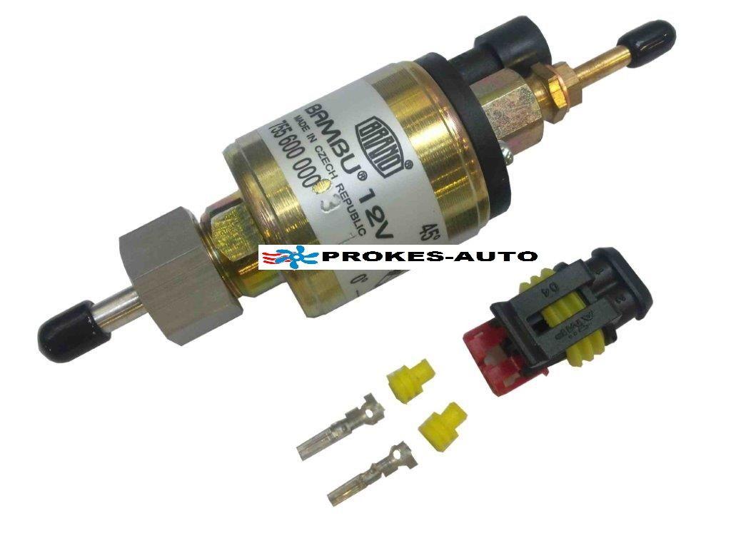 Fuel pump 12V BAMBU kit with connector 443755025 / 755600000 BRANO - ATESO