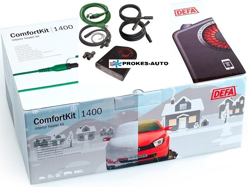DEFA WarmUp ComfortKit II 1400 A470066 / 470066