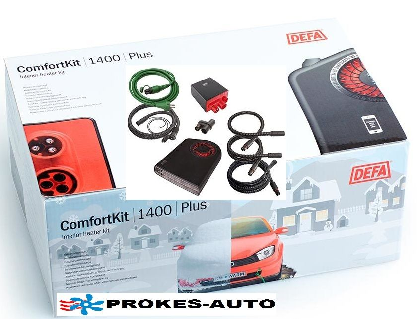 DEFA WarmUp Plus ComfortKit II 1400 A470068 / 470068