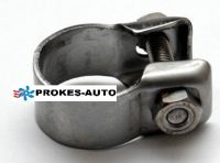 Pipe clamp 26-28mm vor Exhaust pipe 24mm