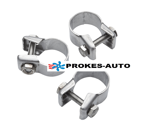Pipe clamp vor Exhaust pipe 22mm and absorber set 3pcs 24-26mm 9019181 Webasto