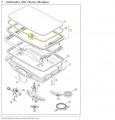Sunroof rubber seal Hollandia 300 Exclusive Webasto