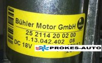 Eberspacher Airtronic D4 24v Blower Motor 252114992000