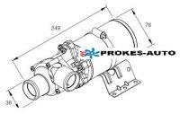 Flowtronic 5000 pump 24V with bracket 252488260000 Eberspächer