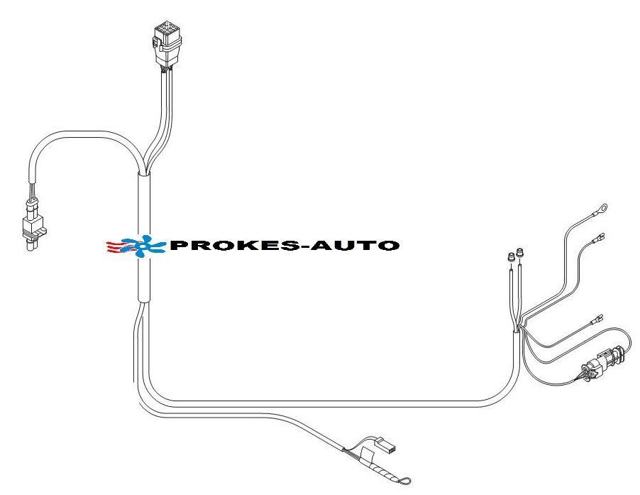 Cable harness Hydronic M-II M8 / M10 / M12 - 252435800600 Eberspächer