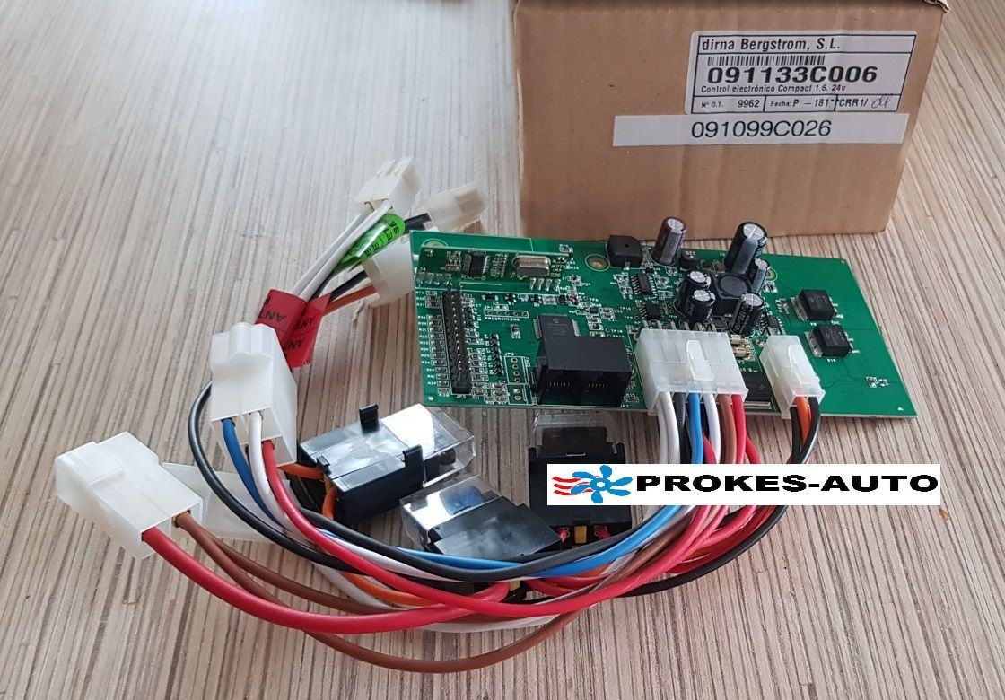 Control Unit / Controller with fuse A/C 24V Dirna 1,6 Compact 091133C006 / 091099C026