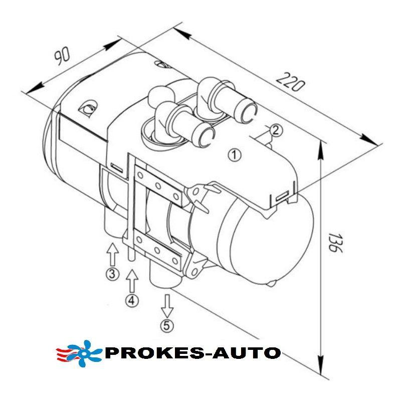 Binar 5s 5kw Water Heater Petrol Ipcu Clima Kit