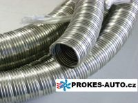Exhaust pipe flexible 22x2 INOX Stainless Steel 0,5m