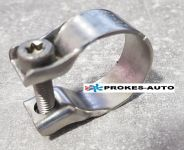 Tube clamp 26-28mm stainless steel