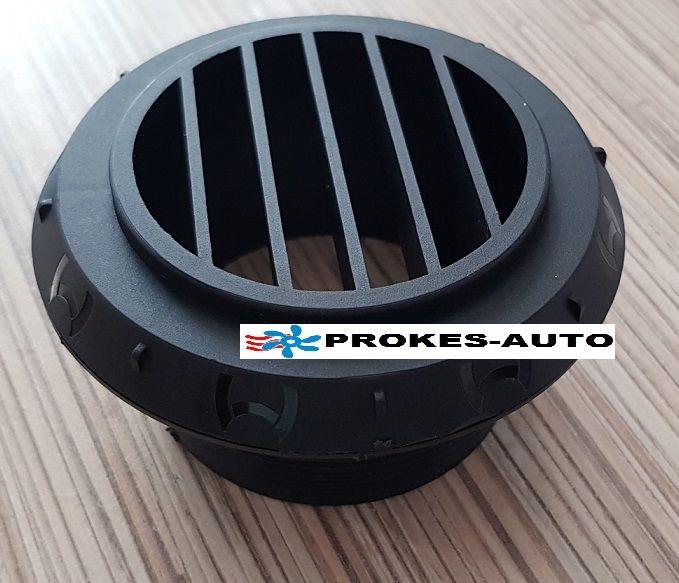 Exhale hot air 90° diameter 60mm black 9012297 Webasto