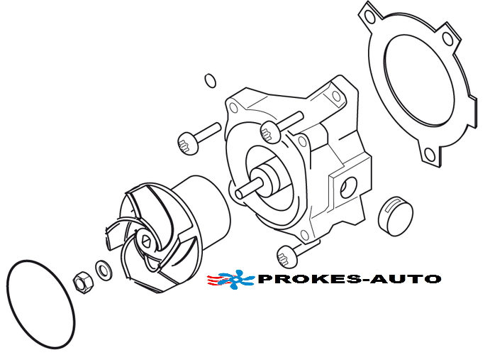 Eberspacher Parts pump Flowtronic 6000SC 252488992510 Eberspächer