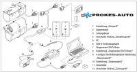 Cable adapter Hydronic D3WZ / D4/D5 W S/SC for diagnostic 221000316300 Eberspächer