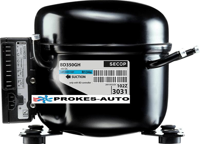Compressor BD350GH SECOP including unit for air conditioning 12V