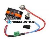 Wiring for Temperature Sensors Hydronic B4WSC; D4WSC; B5WSC; D5WSC