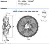 EBM PAPST suction fan 630 mm 400V 4 poles S4D630-AH01-01