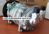 Air conditioner compressor ZEXEL TM15HD pulley 125mm 2GA 24V