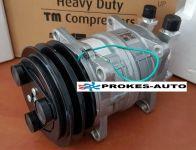 Air conditioner compressor ZEXEL TM15HD pulley 125mm 2GA 12V