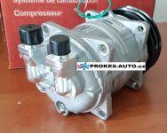 Air conditioner compressor ZEXEL TM15HD pulley 132mm 2GA 24V